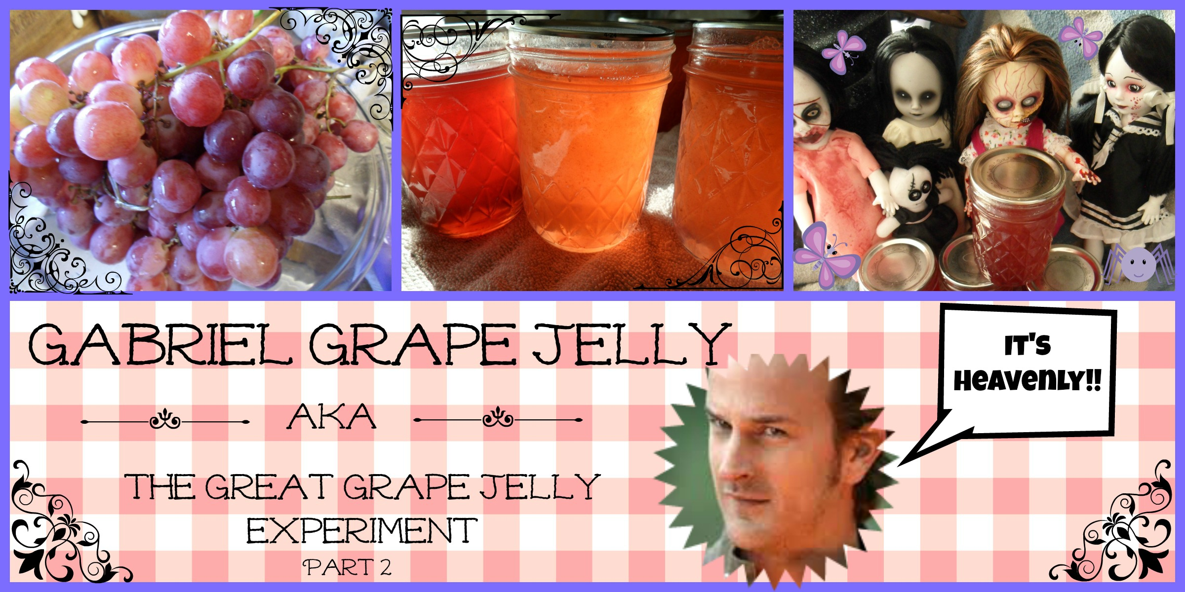 Gabriel Grape Jelly
